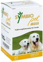 Symbiopet dog stabilisiert das Darmmillieu und unterstützt die Verdauung.